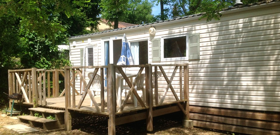 Location de mobil-homes en Dordogne