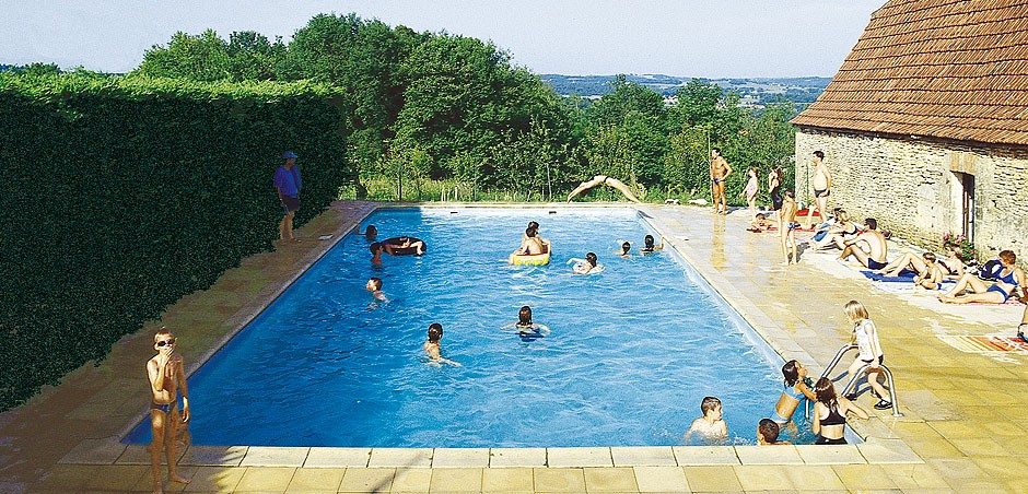 3-star campsite with swimming pool